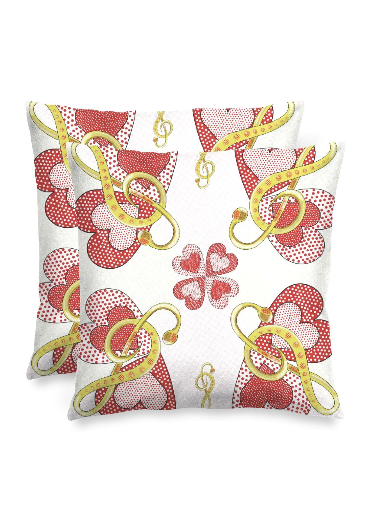 "VIDA Square Pillow - Music by VIDA Original Artist  - Size: Matte / 16"" / Single"