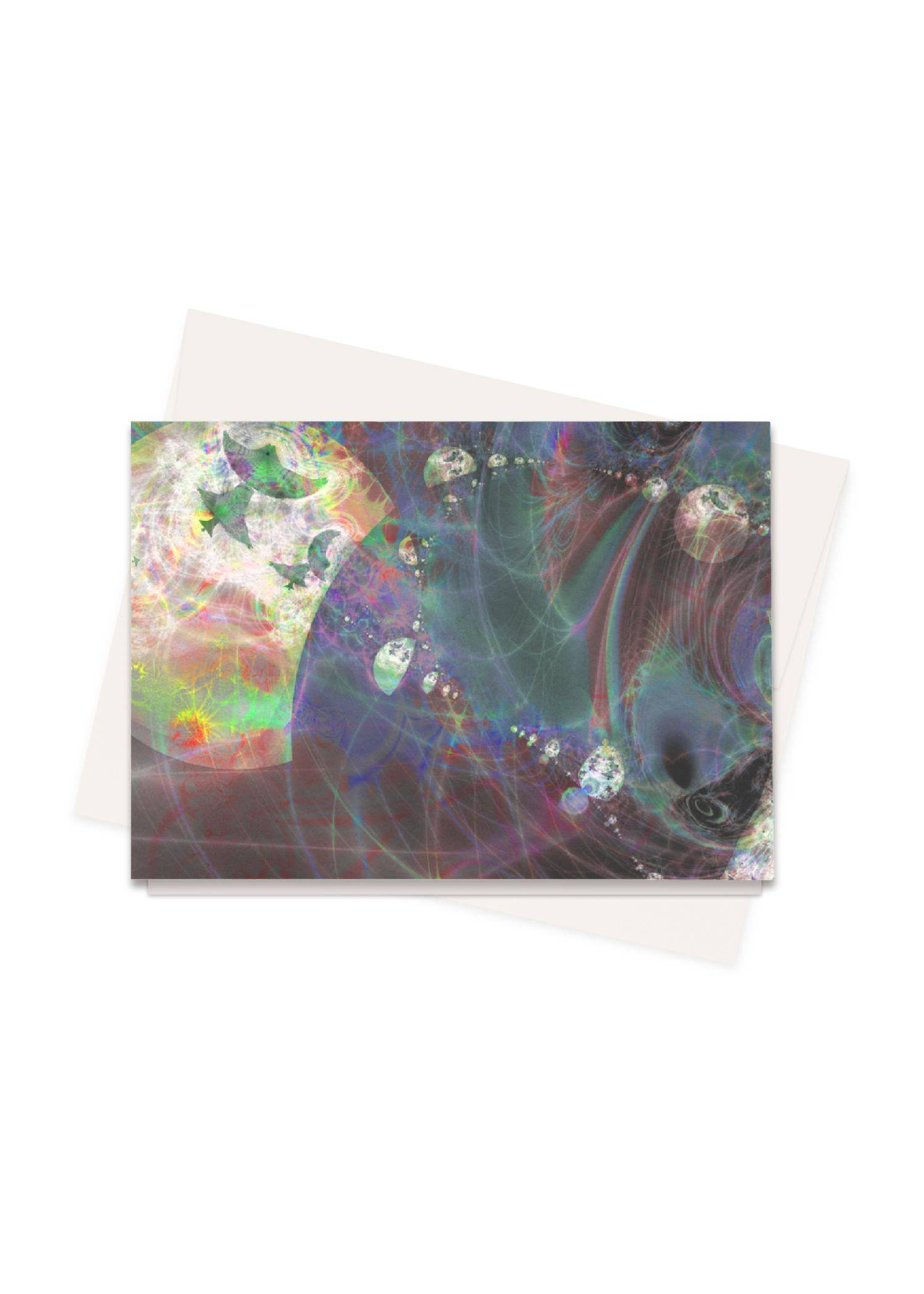 PRIDE Greeting Cards Set - Overthere #Pillow by PRIDE Original Artist  - Size: Set of 16