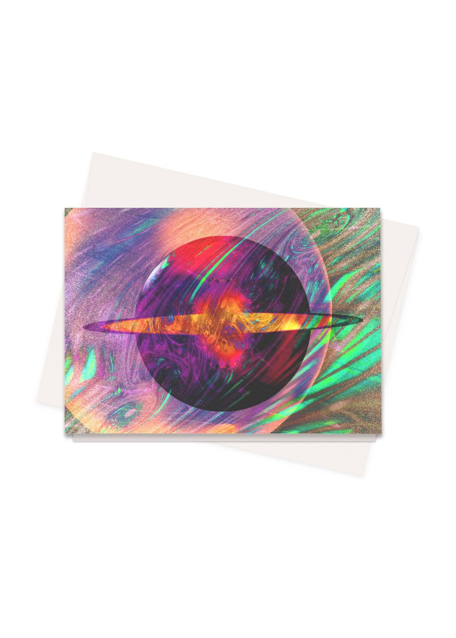 PRIDE Greeting Cards Set - Galaxy 11:11 #Pillows by PRIDE Original Artist  - Size: Set of 8