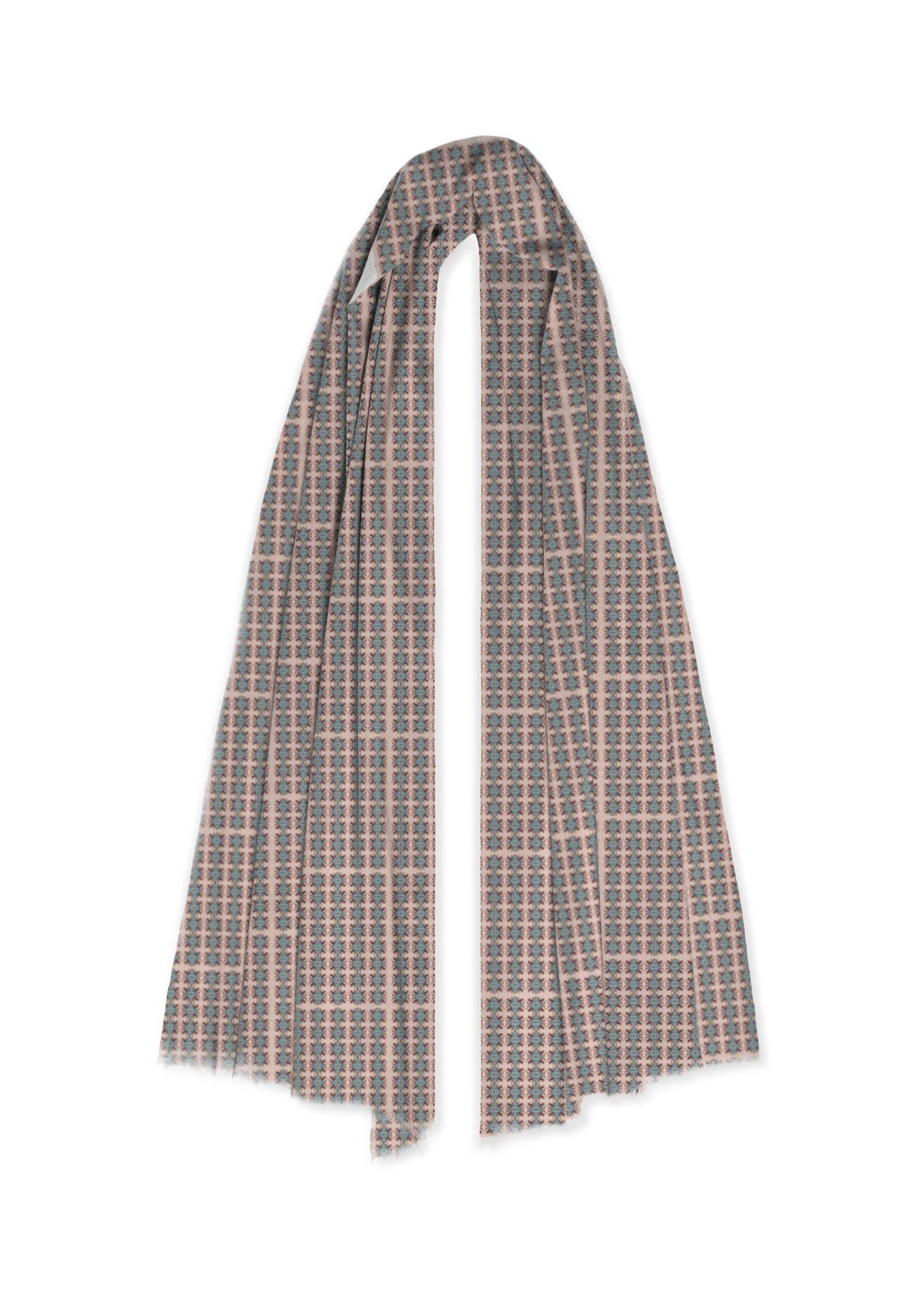 VIDA 100% Cashmere Scarf - Old Fashion by VIDA Original Artist  - Size: One Size