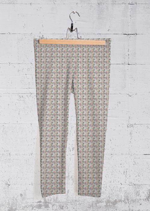 VIDA Yoga Capri Pants - 177 Movies N Theaterplays by VIDA Original Artist  - Size: Extra Small
