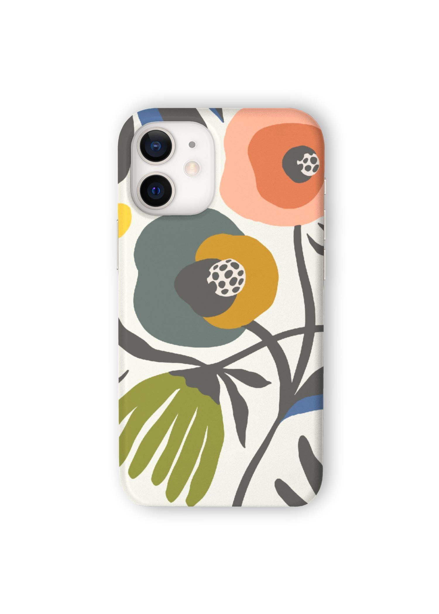 VIDA iPhone Case - Secret Garden by VIDA Original Artist  - Size: iPhone 12 Mini / Ultraslim