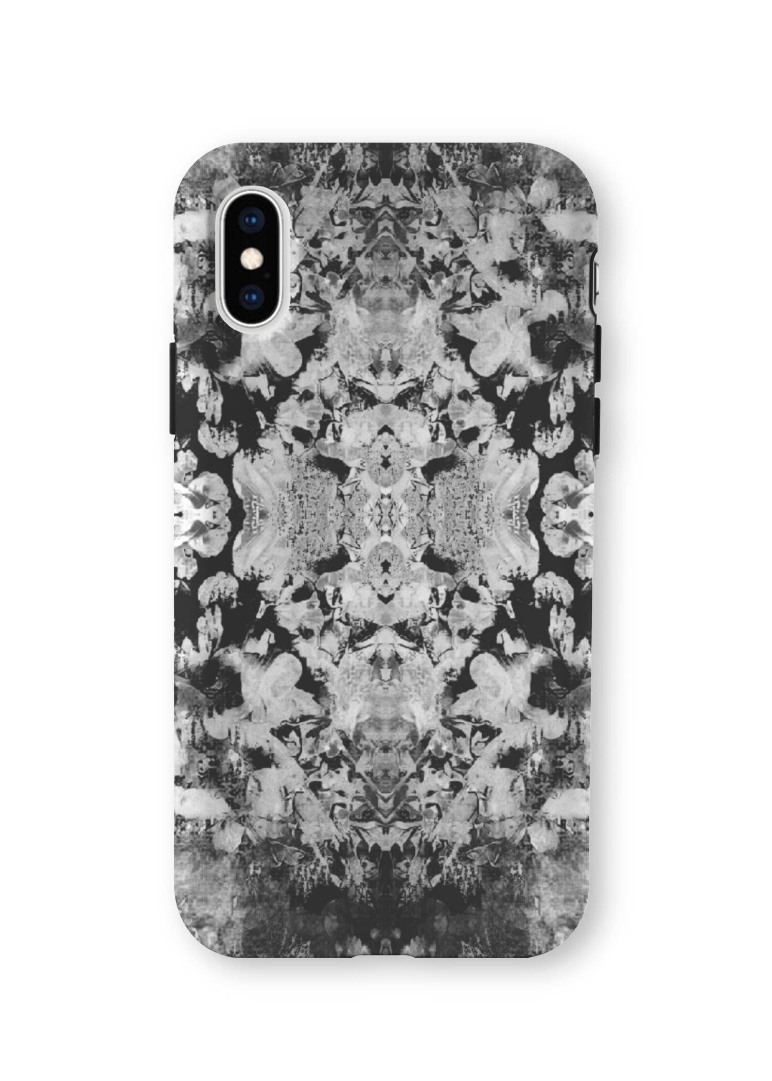 Lindal.toews iPhone Case - Garden Grey by Lindal.toews Original Artist  - Size: Extra Small