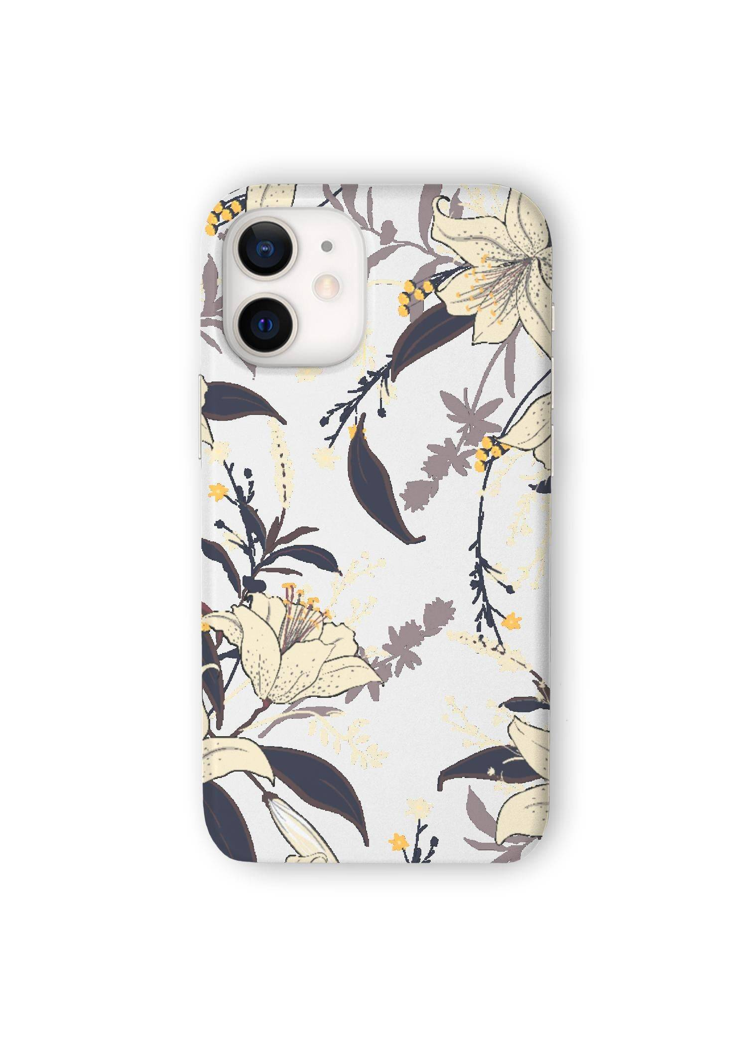 VIDA iPhone Case - Wild Garden by VIDA Original Artist  - Size: iPhone 12 Mini / Ultraslim