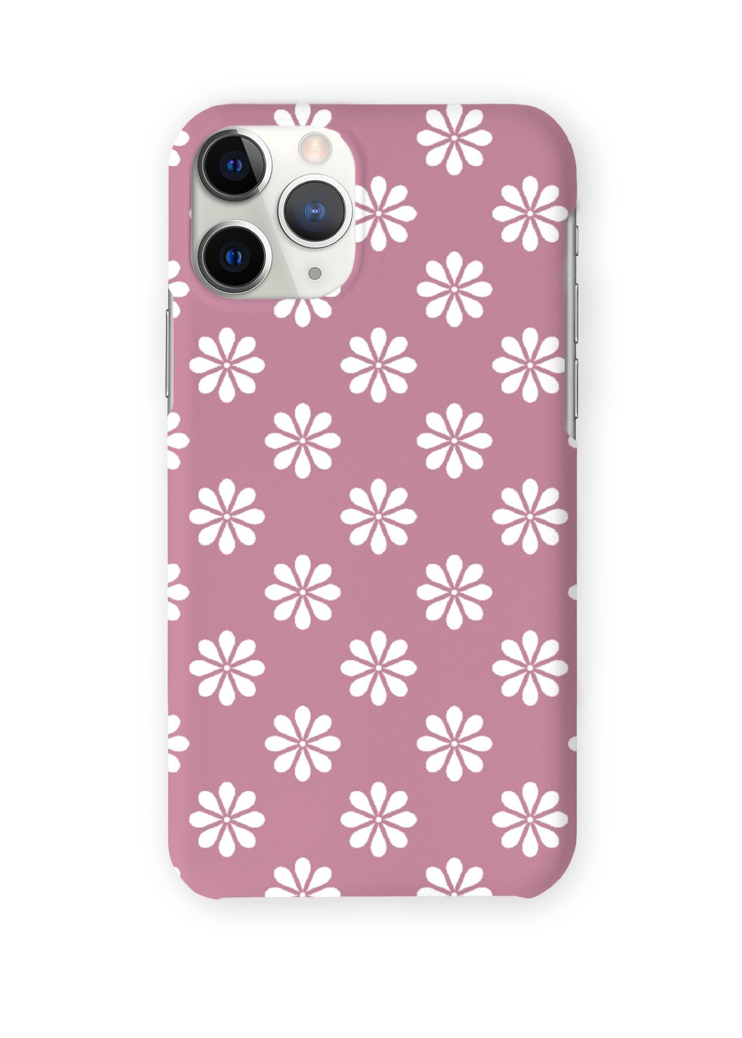 VIDA iPhone Case - Cannon Pink Garden by VIDA Original Artist  - Size: iPhone 11 Pro / Ultraslim