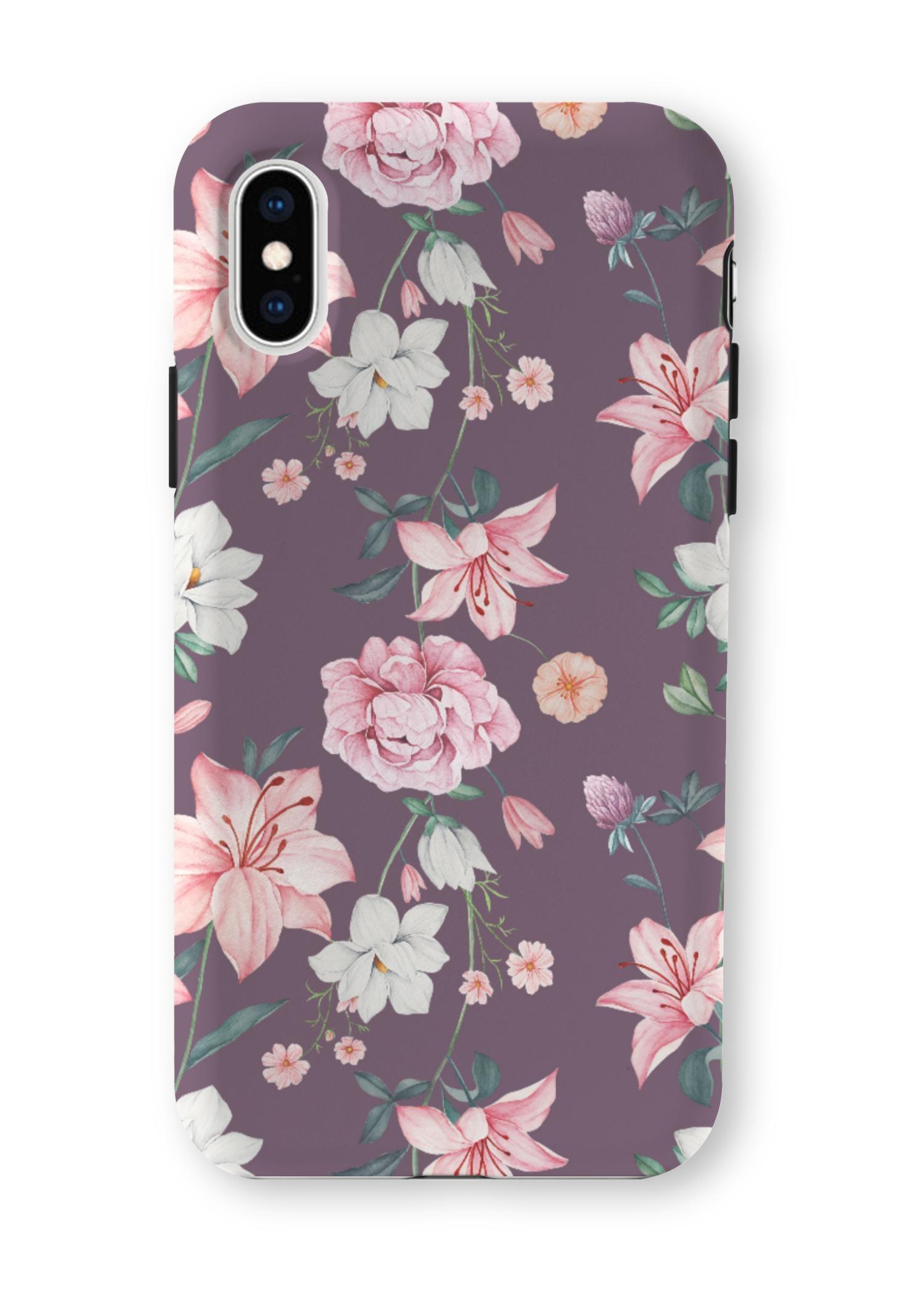 VIDA iPhone Case - Dauntless Garden by VIDA Original Artist  - Size: Extra Small
