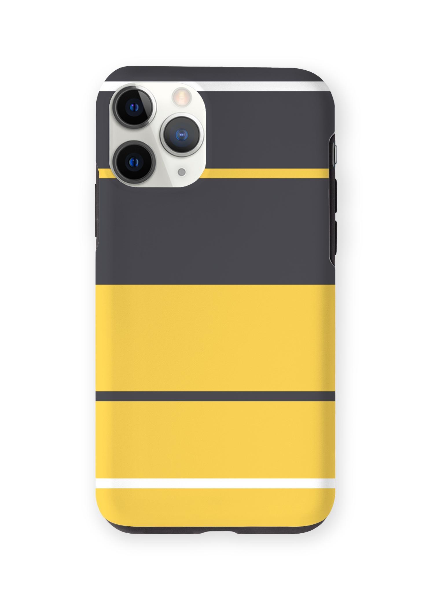 VIDA iPhone Case - Blue Yellow Fashion by VIDA Original Artist  - Size: iPhone 11 Pro / Tough