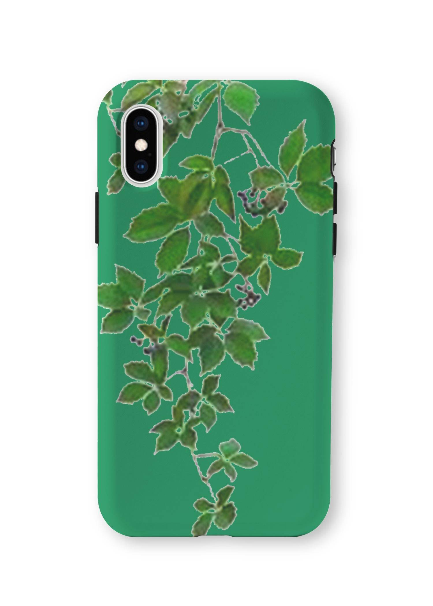 VIDA iPhone Case - Green Hanging Home Decor by VIDA Original Artist  - Size: Extra Small