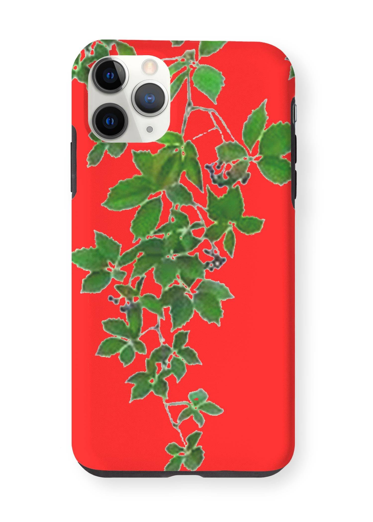 VIDA iPhone Case - Red Hanging Home Decor by VIDA Original Artist  - Size: iPhone 11 Pro Max / Tough
