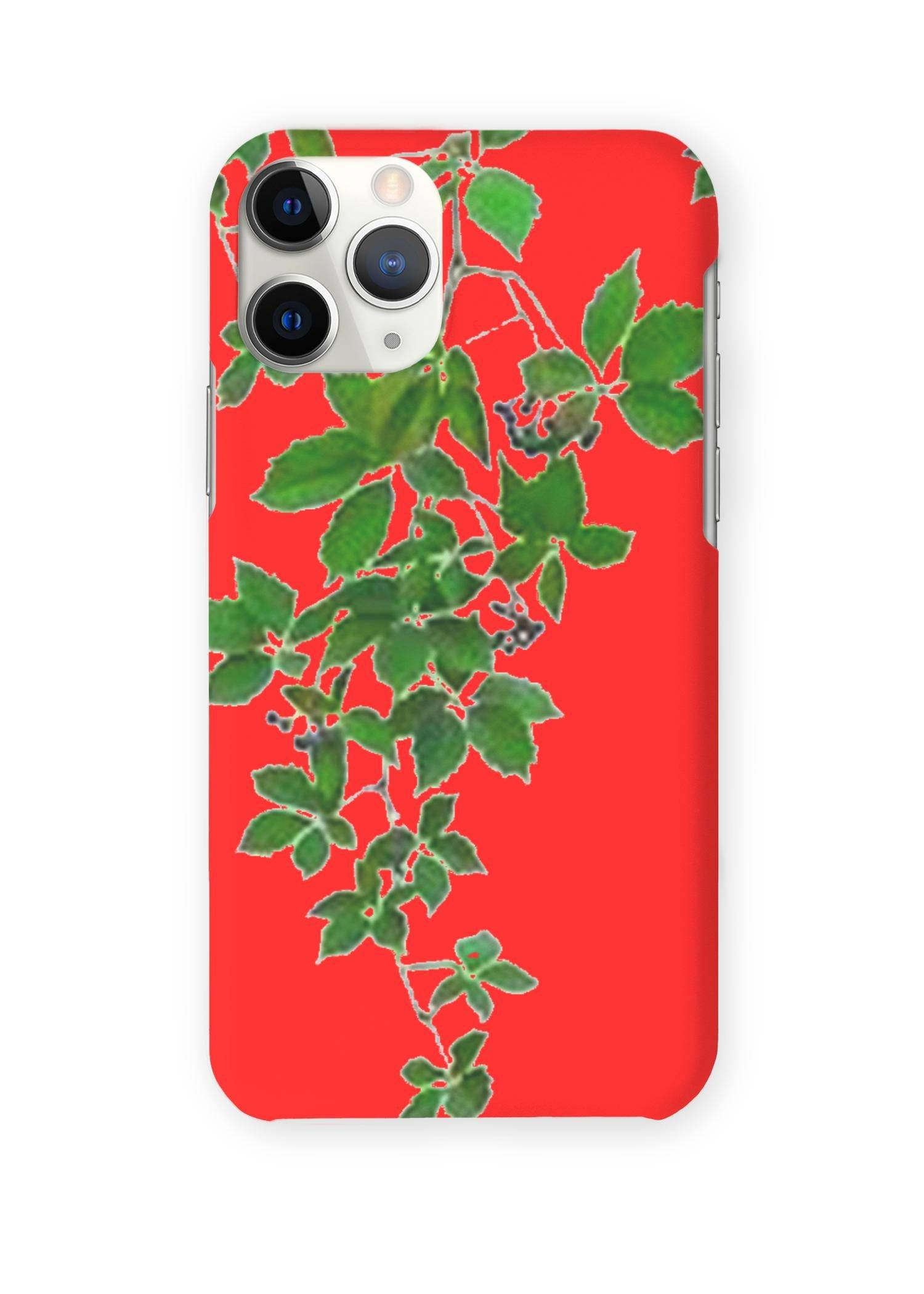 VIDA iPhone Case - Red Hanging Home Decor by VIDA Original Artist  - Size: iPhone 11 Pro / Ultraslim