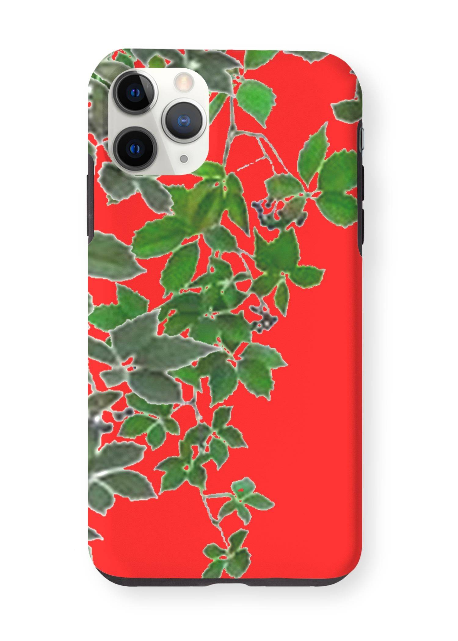 VIDA iPhone Case - Red Hanging Home Decor  2 by VIDA Original Artist  - Size: iPhone 11 Pro Max / Tough