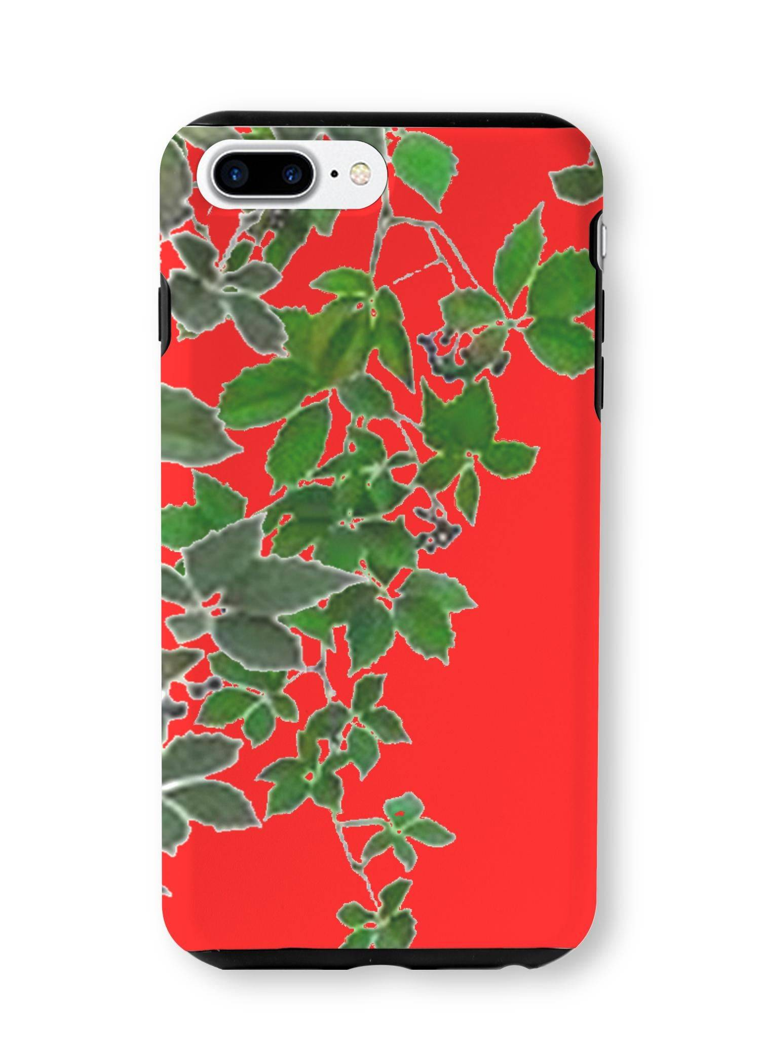 VIDA iPhone Case - Red Hanging Home Decor  2 by VIDA Original Artist  - Size: iPhone 7/8 PLUS / Tough
