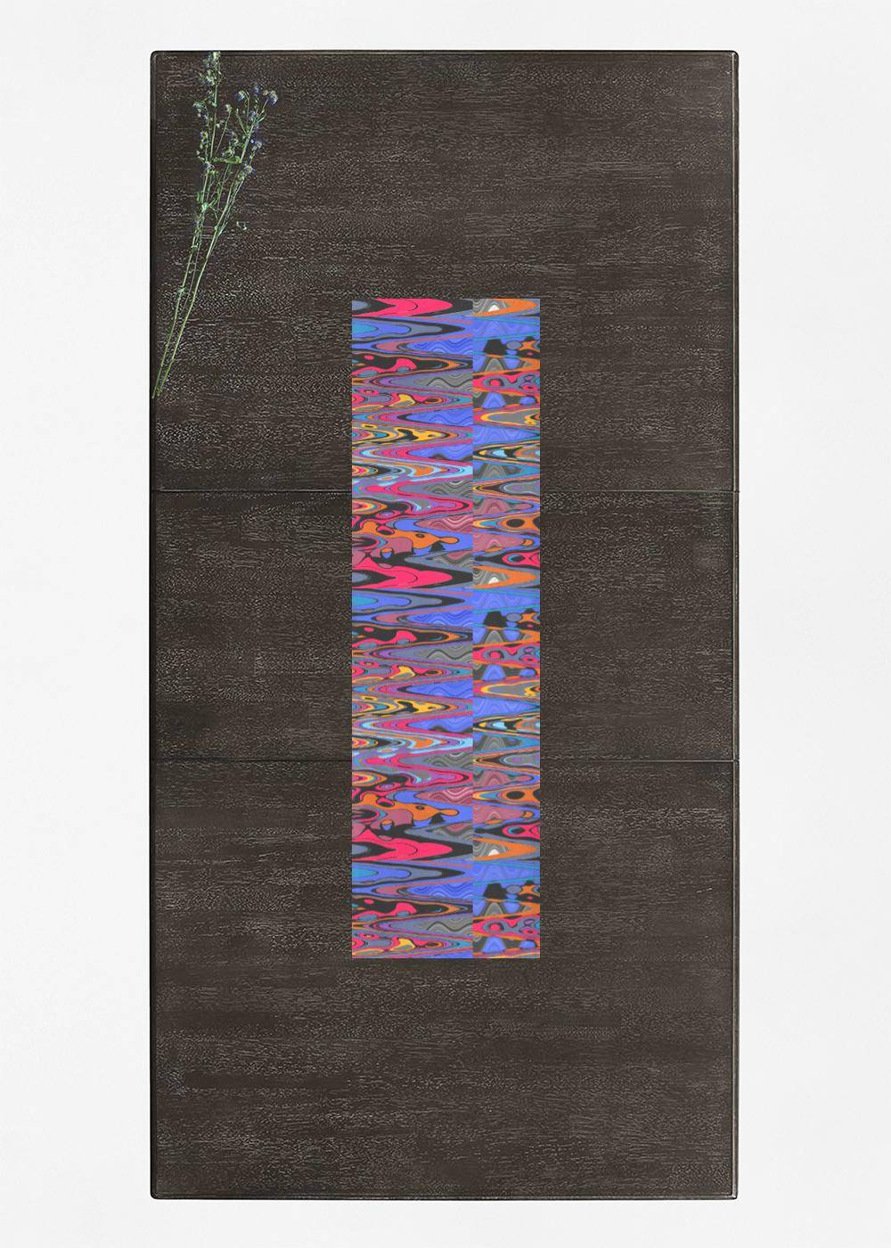 VIDA Table Runner - Vibration Pop Music 2021 by VIDA Original Artist  - Size: Long