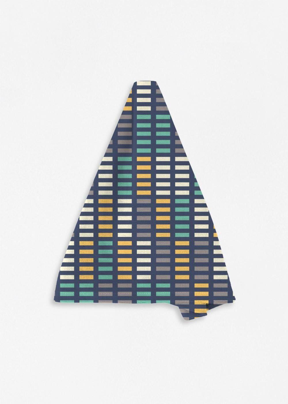 VIDA Napkin Set - Music Equalizer by VIDA Original Artist  - Size: Set of 4
