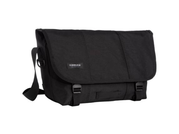 Timbuk2 Classic Carrying Case (Messenger) Bottle, File, Pen, Cell Phone, Accessories - Jet Black 1108-4-6114 -