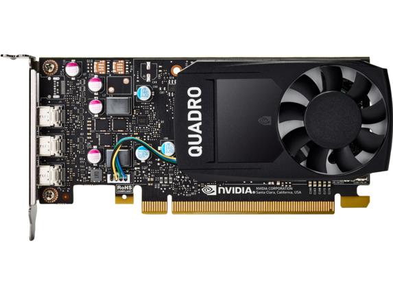 HP NVIDIA Quadro P400 2GB Graphics Card 1ME43AT HP -