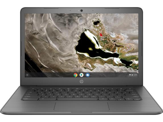 HP Chromebook 14A G5 AMD A6-9220C 64 GB eMMC AMD Radeon R5 Graphics 8 GB DDR4 Chrome OS 7YF74UT#ABA -