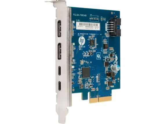 HP Thunderbolt 3 PCIe 2-port I/O Card 3UU05AA -
