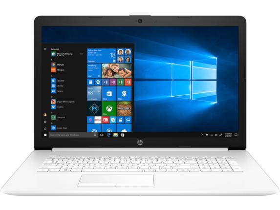 "HP Laptop - 17z-ca100 AMD Ryzen 5 AMD Radeon Vega 8 Graphics 12 GB DDR4 17.3"" Display Windows 10 Home 64 5NV50AV_100007 - Jet Black"