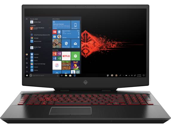 "HP OMEN Gaming Laptop - 17t-cb100 Intel Core i7 10th Gen NVIDIA GeForce RTX 2070 Super 16 GB DDR4 17.3"" Display Windows 10 Home 64 17H47AV_100014 -"
