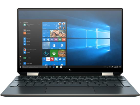 "HP Spectre x360 Convertible Convertible Laptop - 13t Touch Screen Intel Core i5 10th Gen 13.3"" Display Windows 10 Home 64 Everyday_7AL88AV_1 - Nightfall Black"