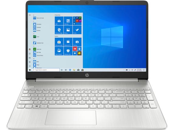 "HP Laptop - 15t-dy200 Touch Screen optional Intel Core i7 11th Gen Intel Iris Xe Graphics 16 GB DDR4 15.6"" Display Windows 10 Home 64 2J130AV_100039 - Snow Flake White"