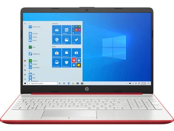 "HP Laptop 15t-dw300 Intel Core i5 11th Gen NVIDIA GeForce MX350 12 GB DDR4 15.6"" Display Windows 10 Pro 64 1B9N3AV_100187 - Pale Gold + Natural Silver"