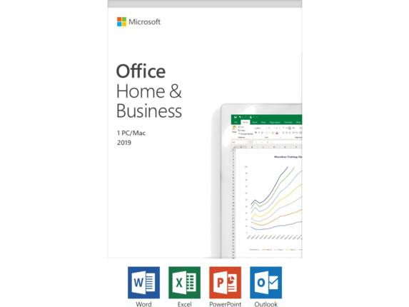 Microsoft Office 2019 Home & Business - License - Windows 10 PC/Mac, 1 Device T5D-03190 -