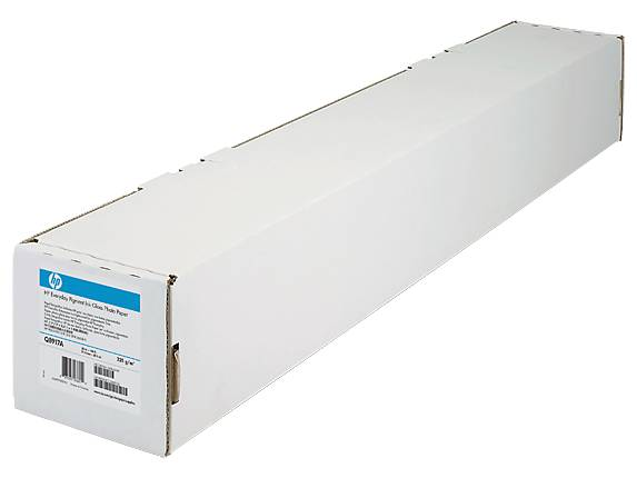 HP 2-pack Everyday Matte Polypropylene-610 mm x 30.5 m (24 in x 100 ft) CH022A-HHO -