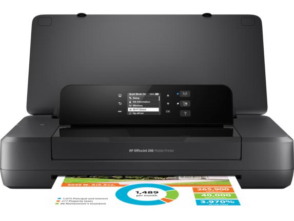 HP OfficeJet 200 Mobile Printer CZ993A#B1H -