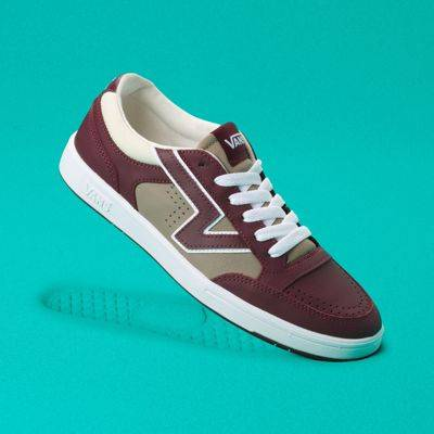 Vans Outdoor Tech Lowland CC (Burgundy/Taupe/Grey)  - Size: adult