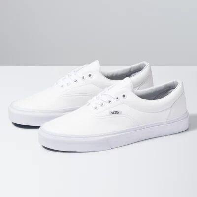 Vans Classic Tumble Era (true white)  - Size: adult