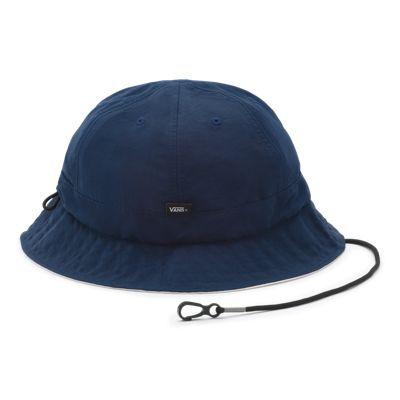 Vans X Pilgrim Surf + Supply Bucket Hat (Dress Blues)  - Size: adult