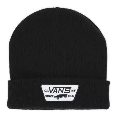 Vans Milford Beanie (Black)  - Size: adult