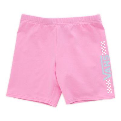 Vans Girls Funnier Times Bike Short (Fuchsia Pink)  - Size: kids