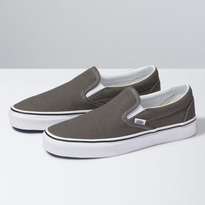 Vans Slip-On (Charcoal)  - Size: adult