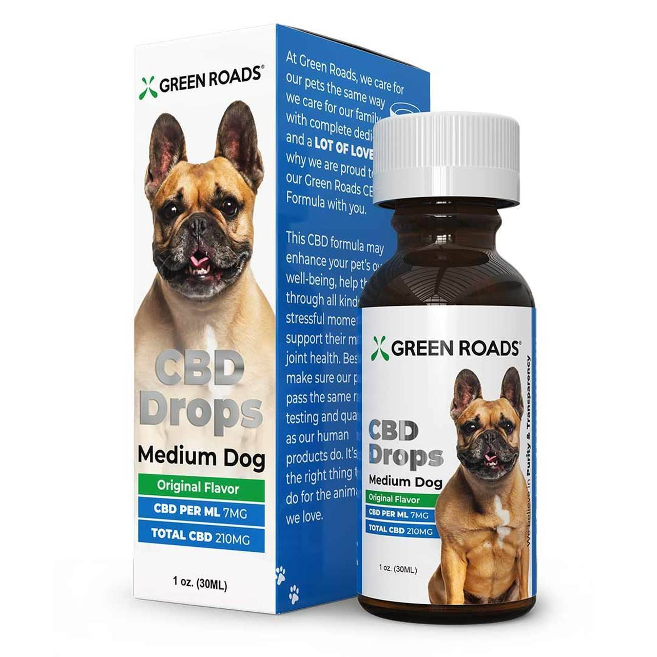 CBDMall Green Roads - Pet CBD Drops Medium Dog