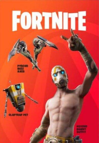 Fortnite - Psycho Bundle (DLC) + Borderlands 3 Epic Games Key SPAIN