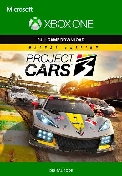 Project CARS 3 Deluxe Edition XBOX LIVE Key EUROPE