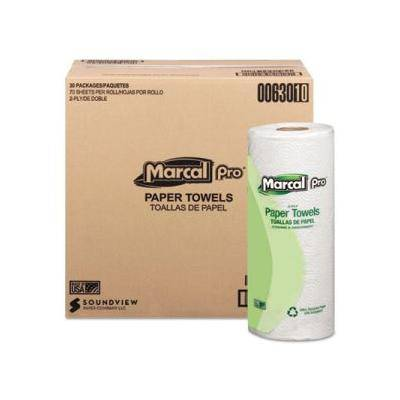 """Marcal Pro """"""""""""Marcal Pro Kitchen 2-Ply Paper Towel Rolls, 30 Rolls (MRC630)"""""""""""""""