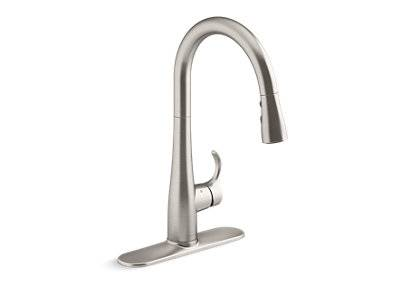 Simplice® Touchless pull-down kitchen sink faucet