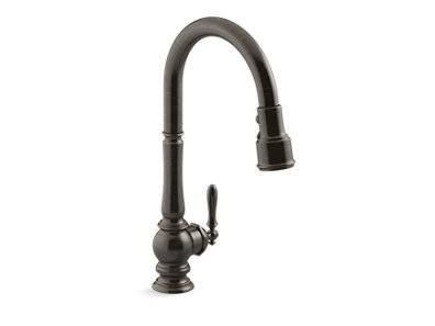 Artifacts® kitchen sink faucet with KOHLER® Konnect™ and voice-activated technology