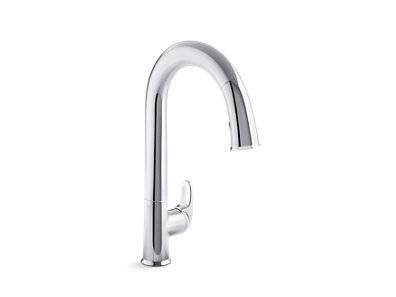 """Sensate™ Touchless kitchen faucet with 15-1/2"""" pull-down spout, DockNetik® magnetic docking system and a 2-function sprayhead featuring the new Sweep® spray"""
