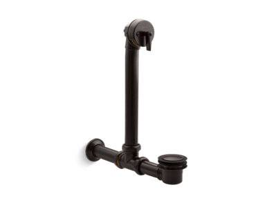 Iron Works® Exposed bath drain for above-the-floor installation