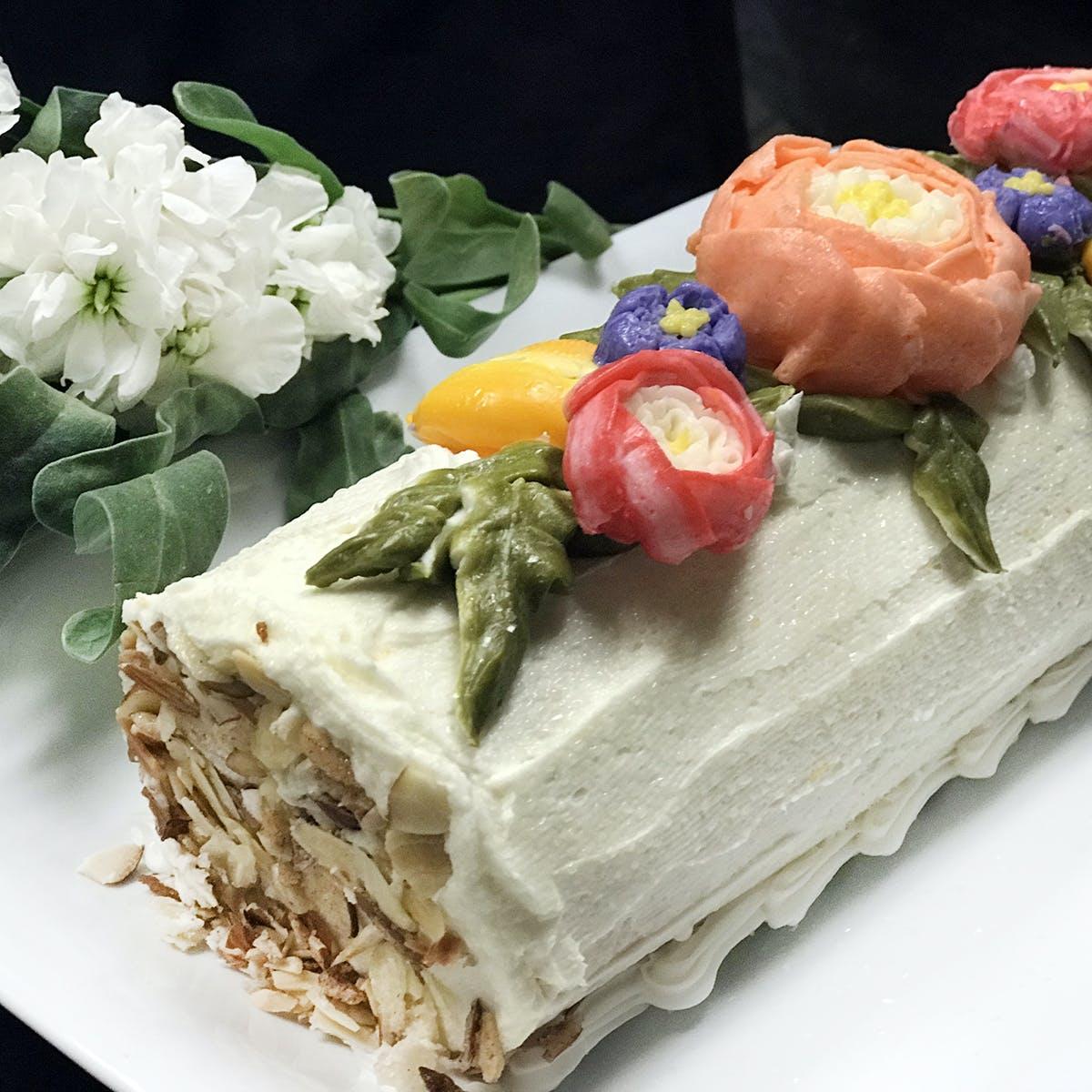 Elegant Brie - Garden Party Orange Cake