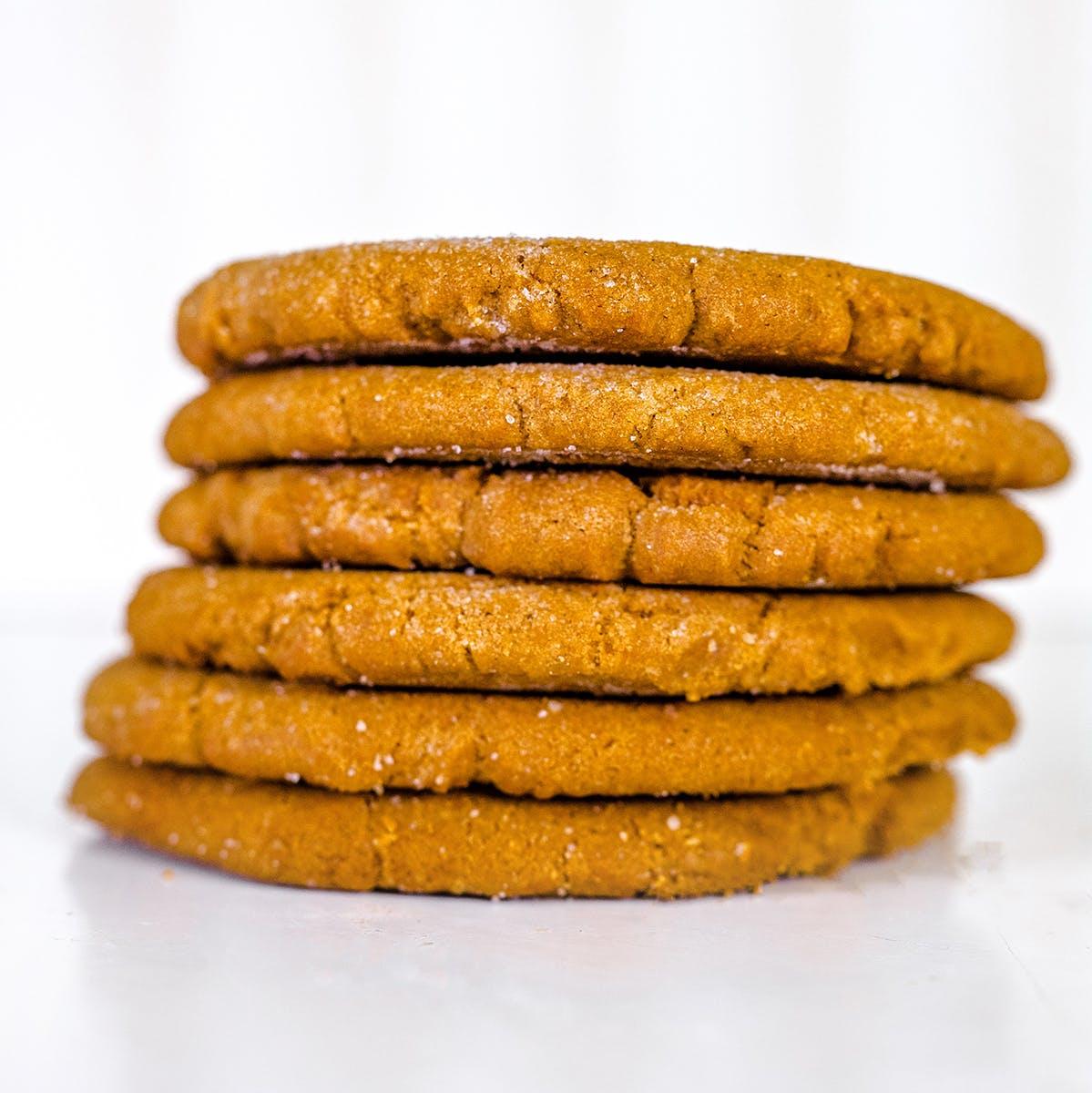 Gladys' Bakery - Texas Sized Molasses Cookies - Dozen