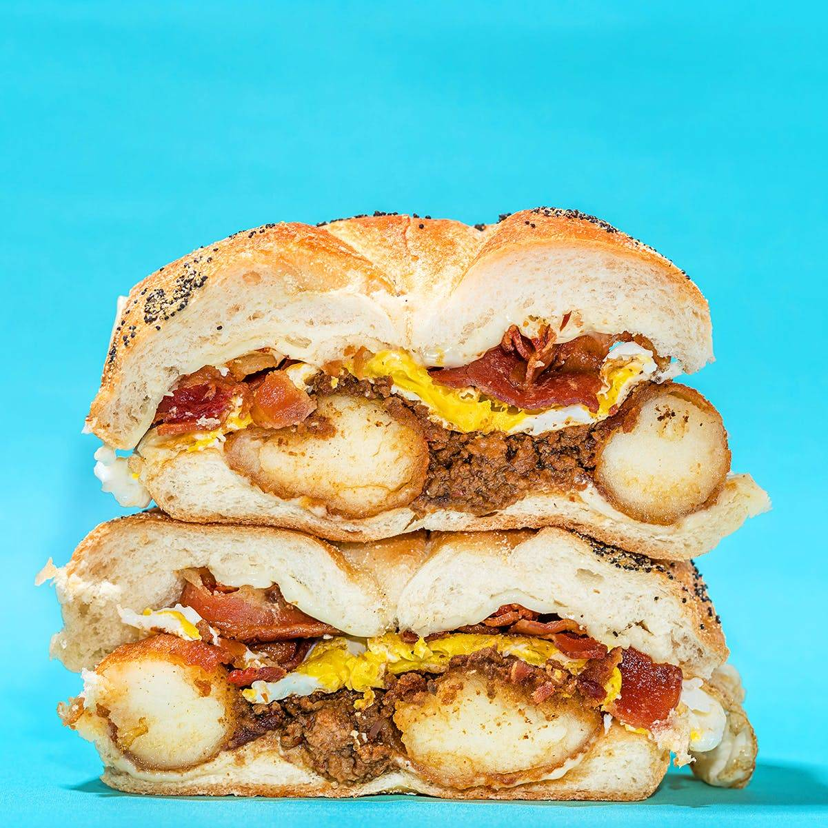 "Garden Catering - ""World's Best"" Hotsy Breakfast Sandwich Kit for 6"