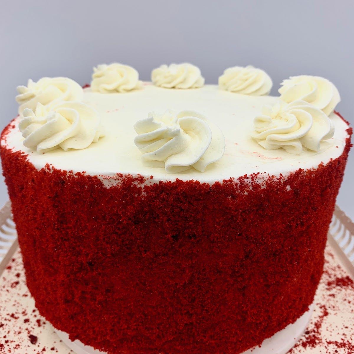 """The Goddess and Grocer - Red Velvet Cake - 6"""""""