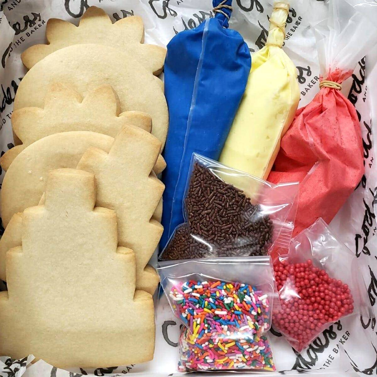 The Goddess and Grocer - Cookie Decorating Kit