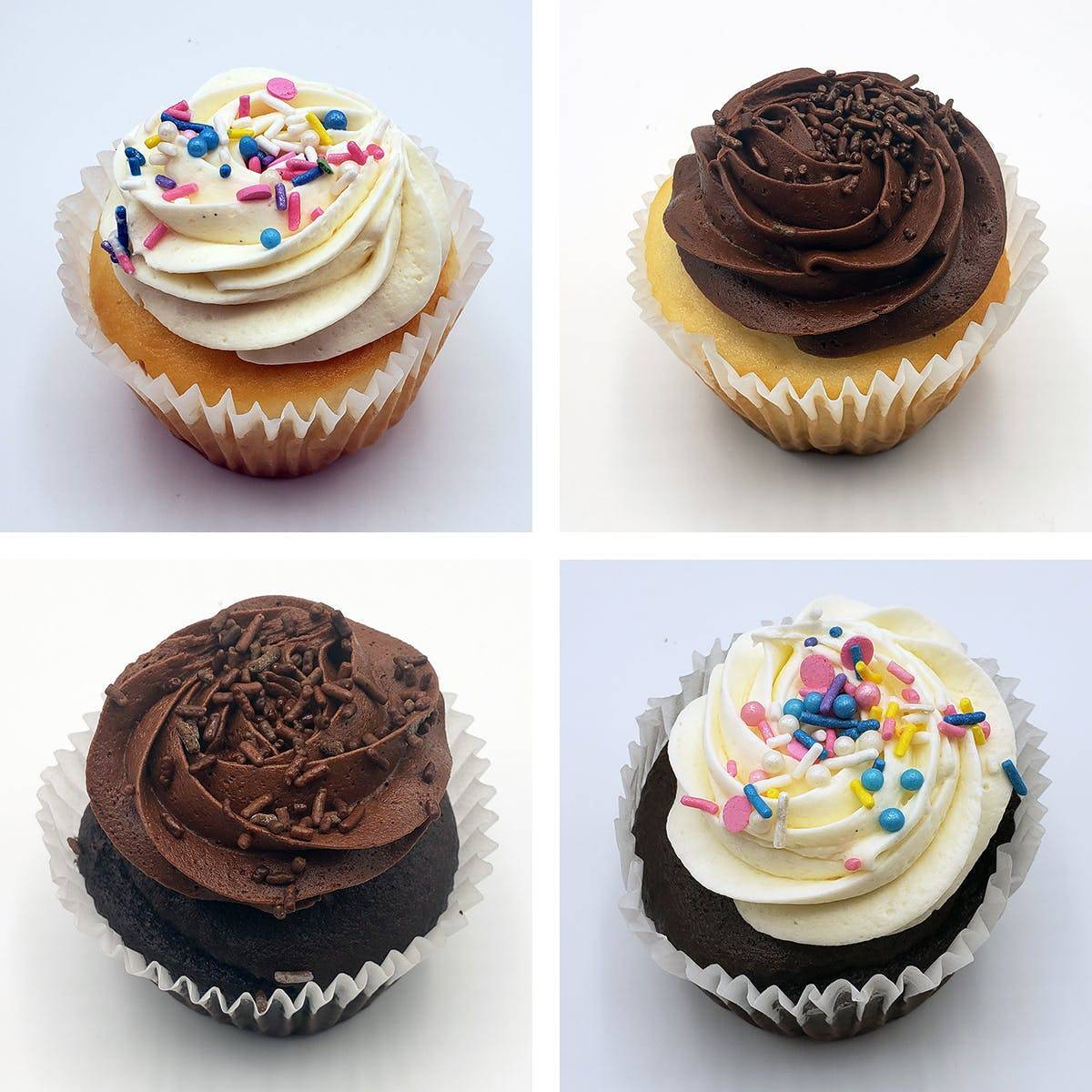 The Goddess and Grocer - Assorted Cupcakes - Choose Your Own 8 Pack